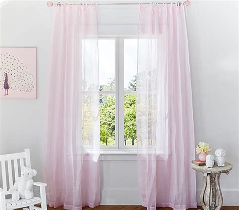 sheer curtains pottery barn curtain pottery barn sheer curtains jamiafurqan