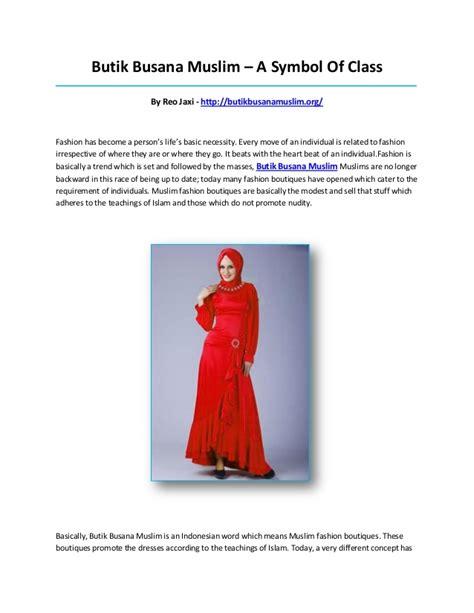 Butik Busana Muslim butik busana muslim
