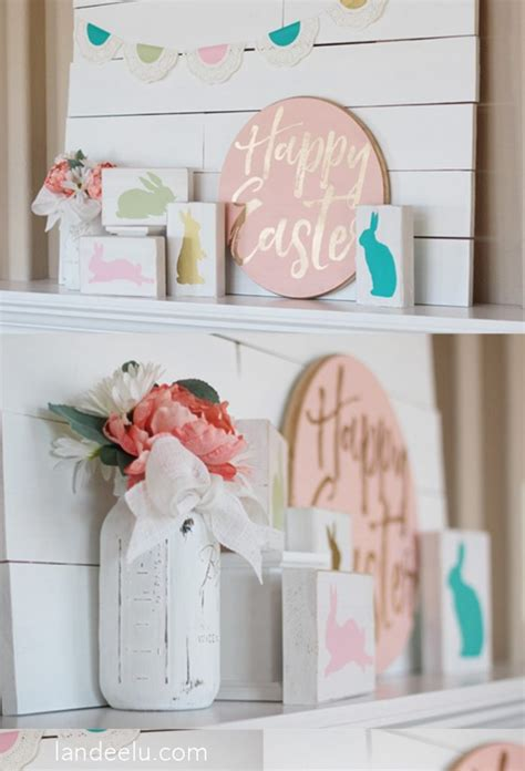 easter home decor 12 diy easter home decor ideas chuckiesblog