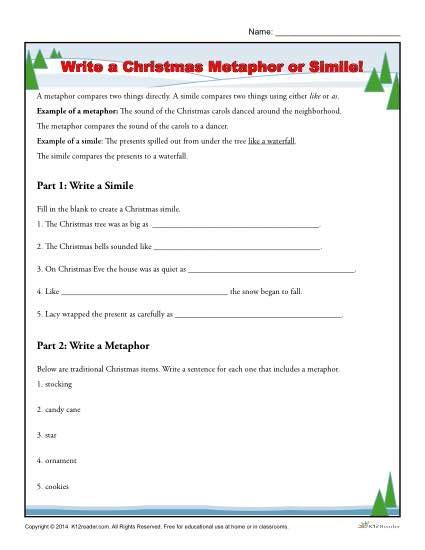 Metaphors Worksheets by All Worksheets 187 Similes And Metaphors Ks2 Worksheets