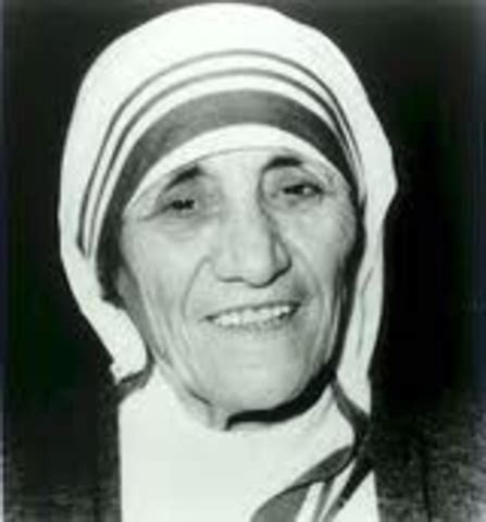 Biography Of Mother Teresa By Joan Graff Clucas | the life of mother teresa timeline timetoast timelines