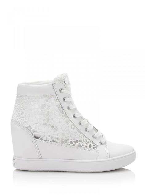 sneakers zeppa interna sneakers con zeppa interna guess