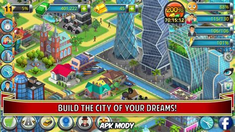 download mod game city island city island 2 building story 2 3 3 money mod apk