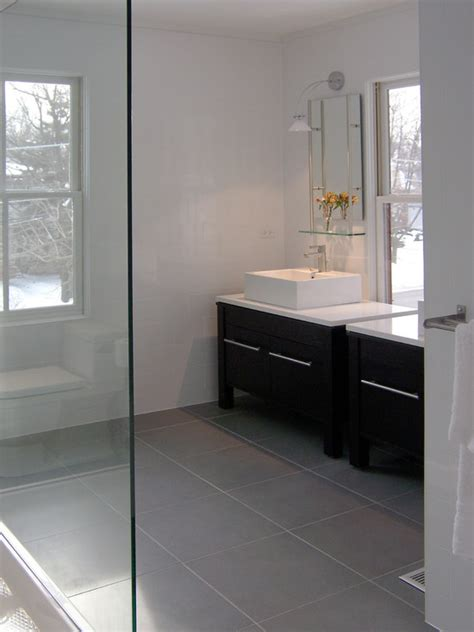 bathroom grey floor tiles chicago modern bathroom design pictures remodel decor
