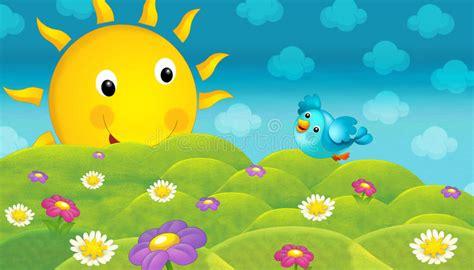 imagenes alegres y coloridas il paesaggio di sguardo felice di una natura