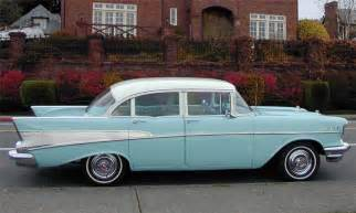 1957 chevrolet bel air 4 door post 15427