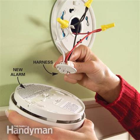 how to install smoke detector install new hard wired or battery powered smoke alarms