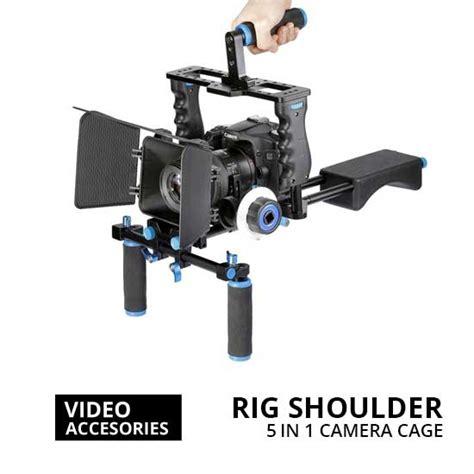 Harga 5 In 1 jual rig shoulder 5 in 1 cage for kamera dslr harga