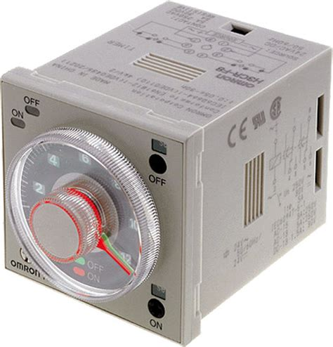 Omron Timer H3cr F8 Timer omron h3cr f8 ac100 240 dc100 125 solid state timers