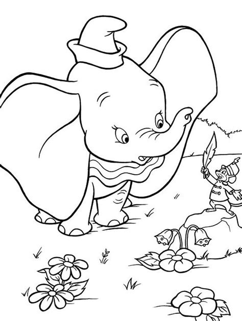 Dumbo Coloring Pages To Download And Print For Free Dumbo Pictures To Color