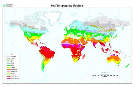 earth temperature map file global distribution of soil temperature regimes jpg