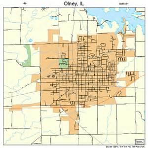 olney map olney illinois map 1755912