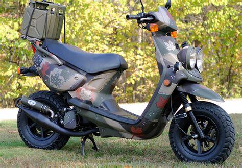free scooter painting yamaha zuma camouflage inspired by the season i
