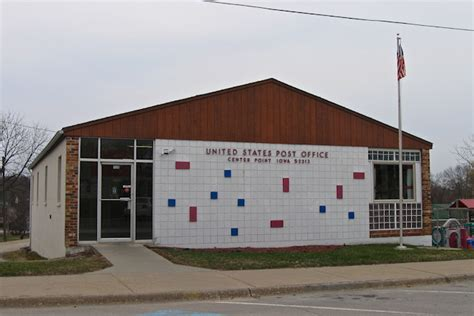 Centerpoint Post Office by County Iowa Backroads