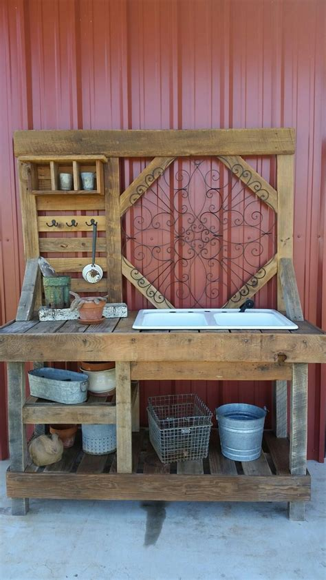 garden potting bench with sink ideas accent your garden with splendid potting bench with sink primebiosolutions com