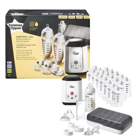 Tommee Tippee Adapter Set tommee tippee express and go complete starter kit