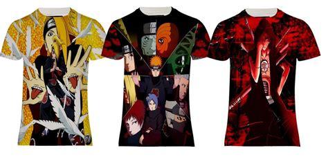 T Shirt Anime Akatsuki new akatsuki shippuden deidara anime printed