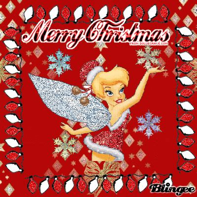 tinkerbell christmas picture 37946544 blingee com