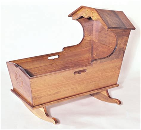 cradle plans woodworking new items heritage cradle woodworking plan