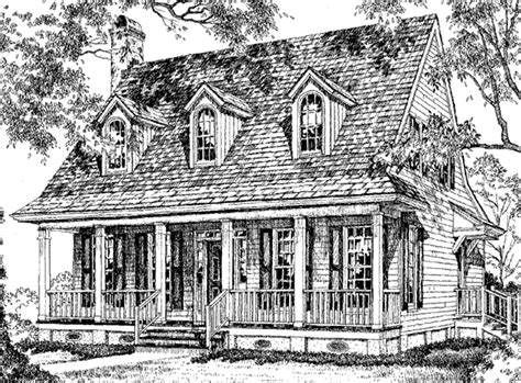 creole style house plans creole cottage william h phillips southern living house plans
