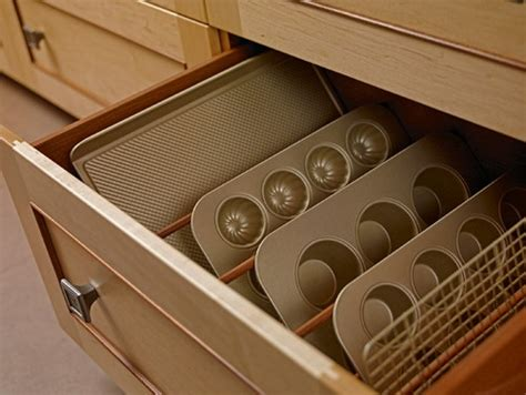 baking pan storage baking pan storage in drawer by qcci custom accessories