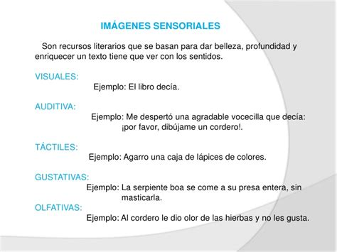 imagenes sensoriales olfativas el principito