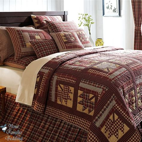 country bed sets country quilt sets leaf twin queen cal king size 100