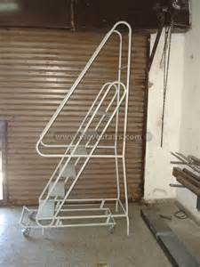 portable stairs rolling warehouse stairs