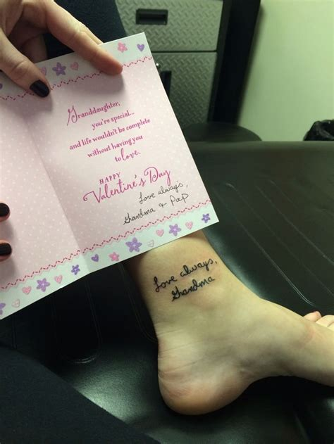 grandma memorial tattoos best 25 memorial tattoos ideas on
