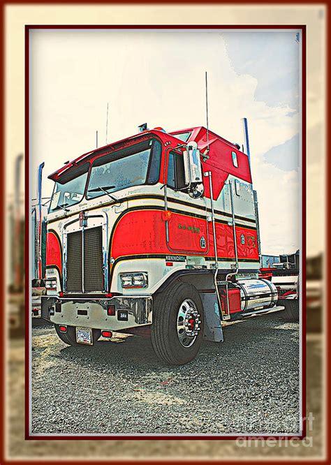 kenworth truck builder pin custom cabover semi truck builder on