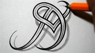 Together celtic weave style letter tattoo design youtube