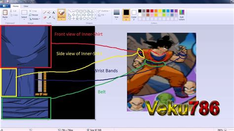 cara mod game dragonball online dbz budokai 3 tutorial 3 editing the textures hd youtube