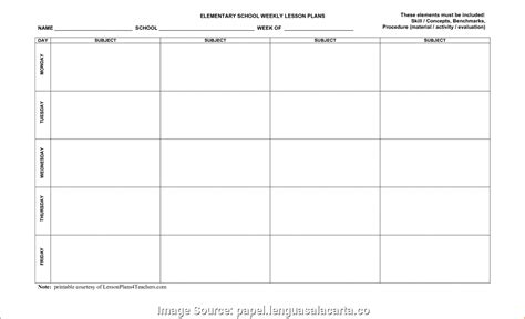 free editable weekly lesson plan template excellent free lesson plan template editable weekly plans