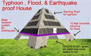 Earthquake Proof House Plans Yolanda Typhoon House Design To Prevent Damages