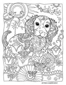 dogs coloring pages difficult coloring