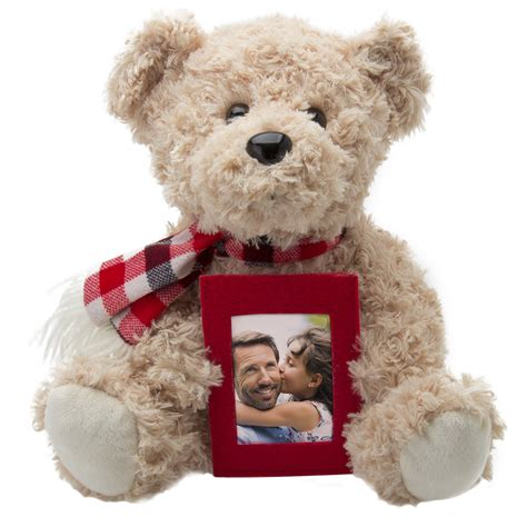 Frame Foto Teddy teddy with picture frame neil enterprises