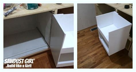 how to build a blind corner cabinet diy corner cabinet with no wasted space sawdust 174