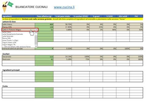 calcolo calorie alimenti tabella tabella calorie alimenti completa pdf idee di immagine