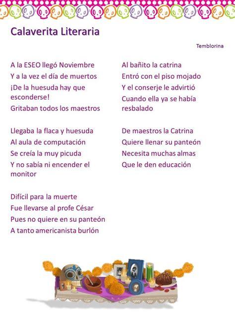 imagenes literarias poeticas calaveras literarias noviembre 2013 tic s mimi