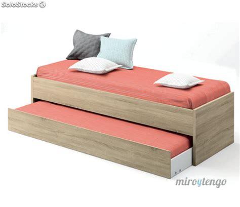 camas con somier cama nido somier incluido color cambrian de dormitorio