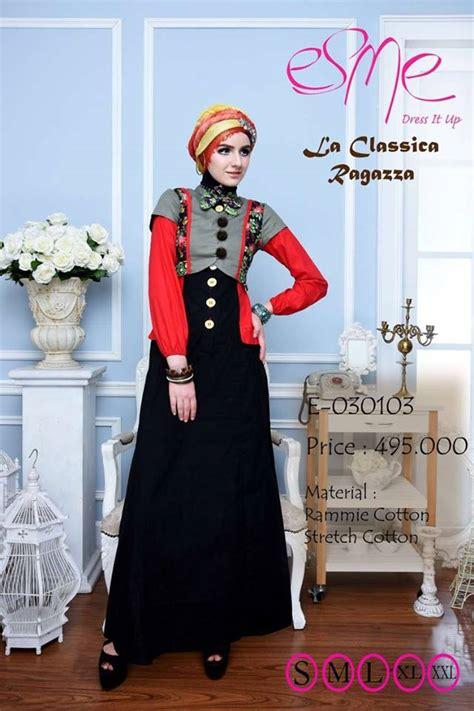 Baju Muslim Modern Terbaru 20 Model Baju Gamis Modern Untuk Pesta Terbaik