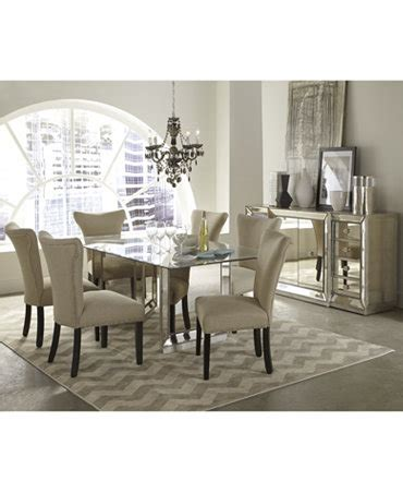 Mirrored Dining Room Furniture Mirrored Dining Room Furniture Collection