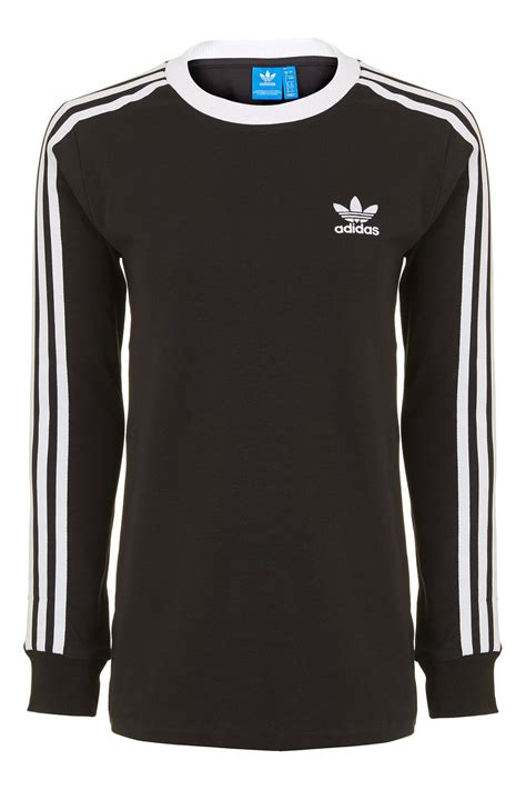 T Shirt Sleeve 3 3 stripe sleeve t shirt by adidas originals topshop europe