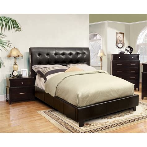 california king bedroom set furniture of america junnie 3 piece california king