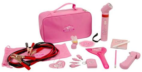 Pink Car Kit versatile pink car tools kit popsugar tech