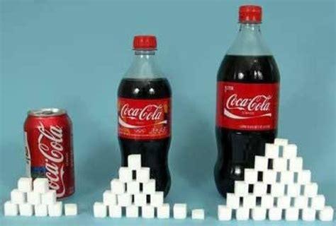Der Zuckergehalt von Coca Cola