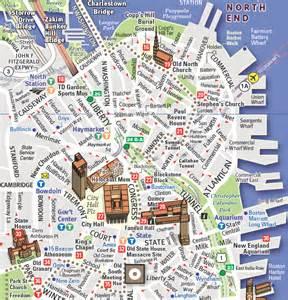 Map Of Downtown Boston vandam maps image gallery
