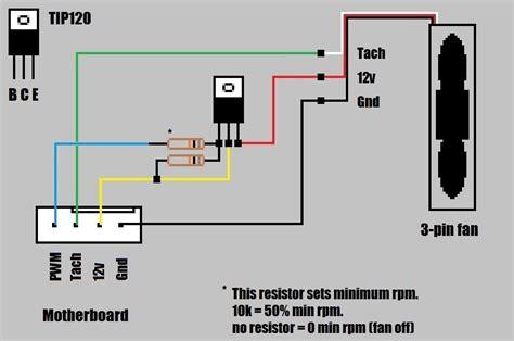 4 wire pc fan switch wiring diagram furnace fan limit