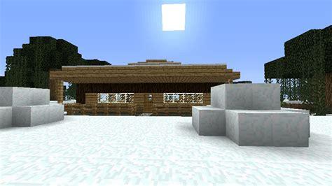 Minecraft Winter Cabin by Winter Log Cabin Minecraft Project