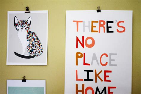 hanging art prints vintage diy and visual inspiration